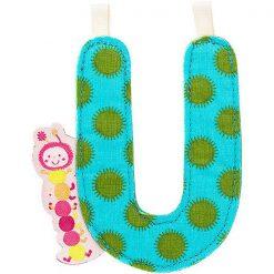 Textilné písmeno U 1