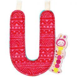 Textilné písmeno U 2