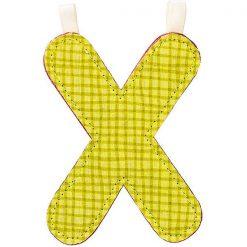 Textilné písmeno X 1