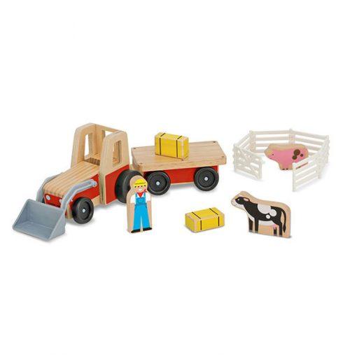 Traktor s prívesom 1