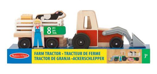 Traktor s prívesom 2