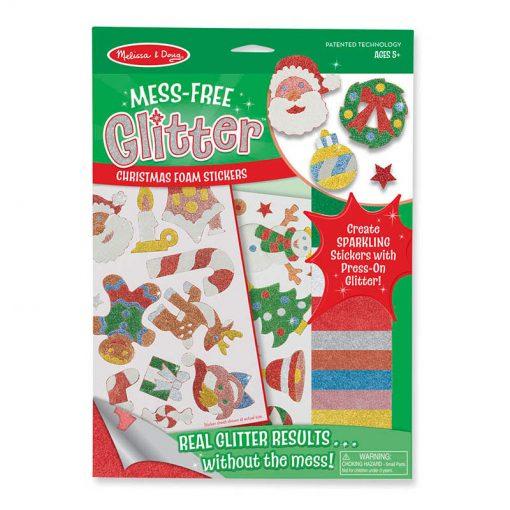 Trblietavé nálepky - Vianočné ozdoby 1