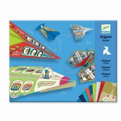 Tvorivá sada Origami - Lietadlá (pre chlapcov) 1