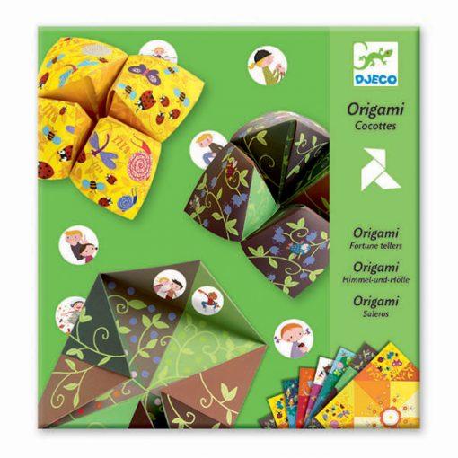 Tvorivá sada Origami - Nebo, peklo, raj (pre chlapcov) 1