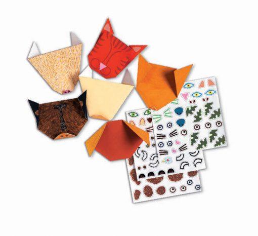 Tvorivá sada Origami - Zvieratká 3