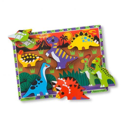 Vkladacie puzzle - Dinosaury 2