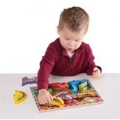 Vkladacie puzzle - Dinosaury 3