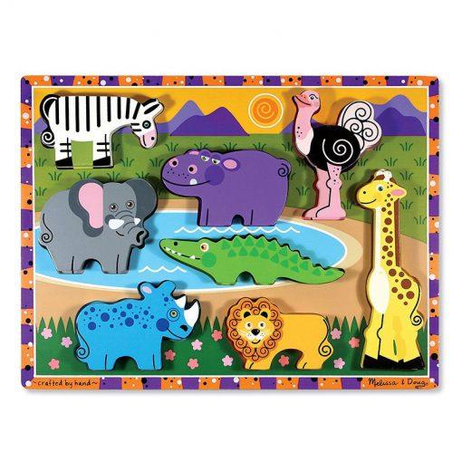 Vkladacie puzzle - Safari 1