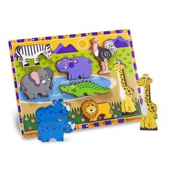 Vkladacie puzzle - Safari 2