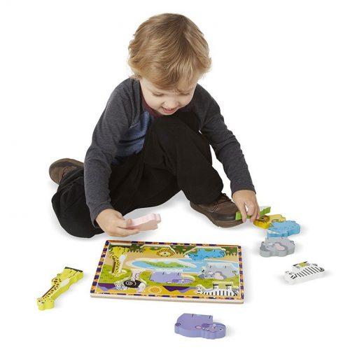 Vkladacie puzzle - Safari 3