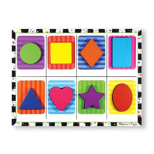 Vkladacie puzzle - Tvary 1
