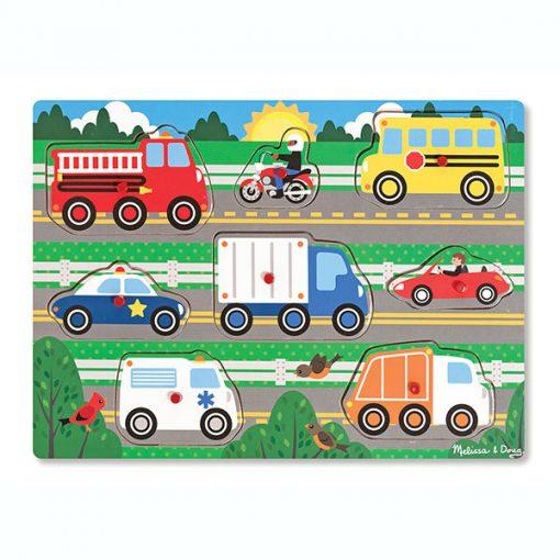 Vkladacie puzzle - Vozidlá 1