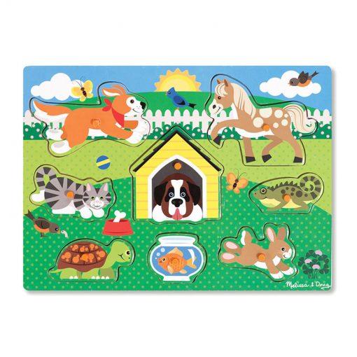 Vkladacie puzzle - Zvieratká 1