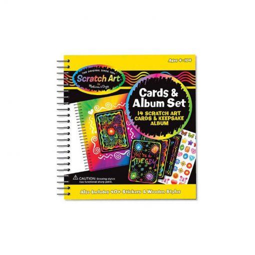 Vyškrabovanie - Čmáracia kniha a karty 1