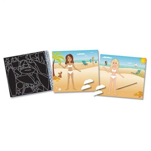 Vyškrabovanie - Módne scény - Zábava na pláži 2