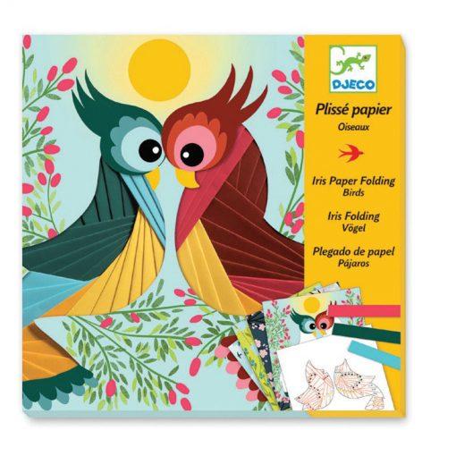 Výtvarná sada Iris folding - Vtáci 1