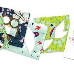 Výtvarná sada Iris folding - Vtáci 2