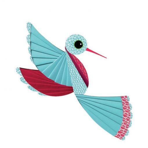 Výtvarná sada Iris folding - Vtáci 4