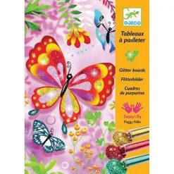 Výtvarná sada Trblietavé motýle 1