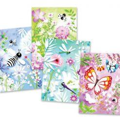 Výtvarná sada Trblietavé motýle 2