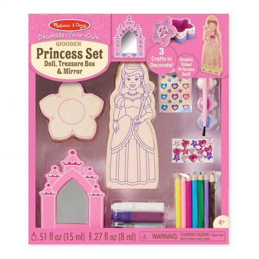 Vyzdob si sám - Drevený princeznový set 1