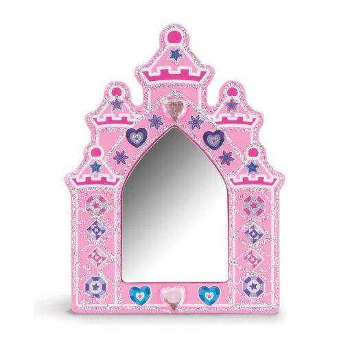 Vyzdob si sám - Drevený princeznový set 4