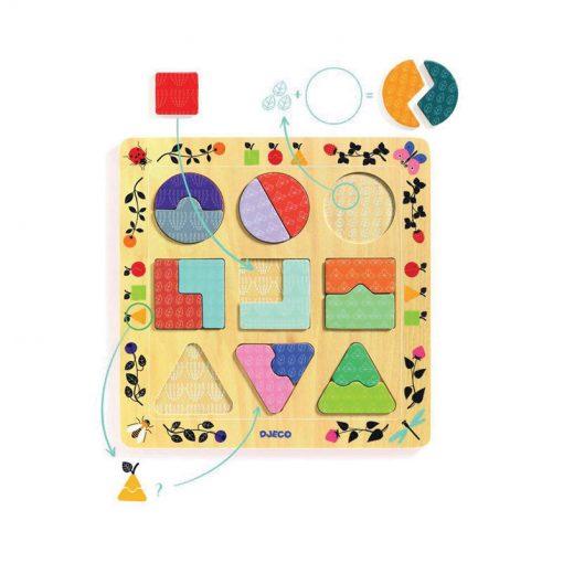 Vzdelávacie puzzle Ludigraphic 1