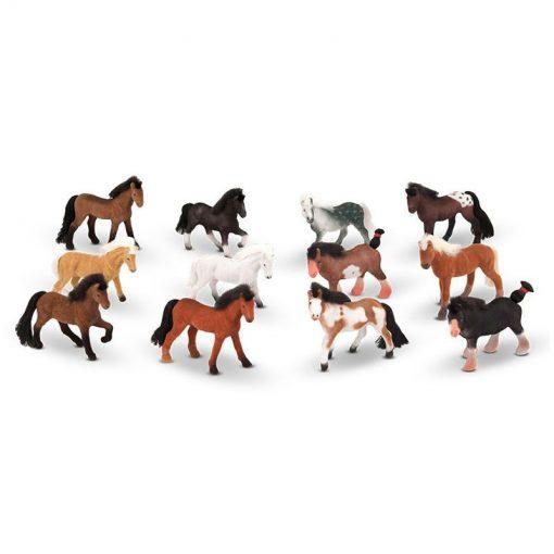 Zbierka koní - 12ks 1