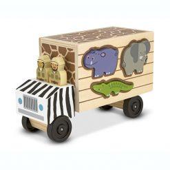 Zvieracia záchrana - Drevená hracia sada 1