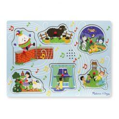 Zvukové puzzle - Detské riekanky 1