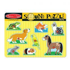Zvukové puzzle - Domáce zvieratká 1