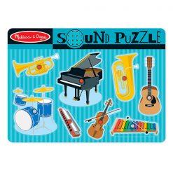 Zvukové puzzle - Hudobné nástroje 1