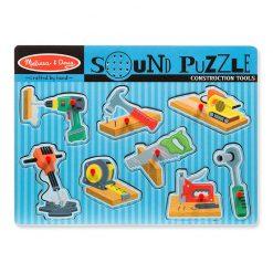 Zvukové puzzle - Náradia 1