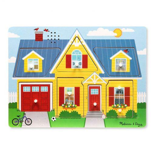 Zvukové puzzle - Okolo domu 1