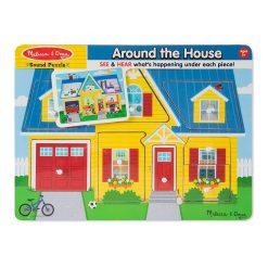 Zvukové puzzle - Okolo domu 4