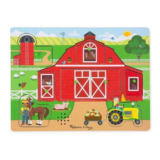 Zvukové puzzle - Okolo farmy 1