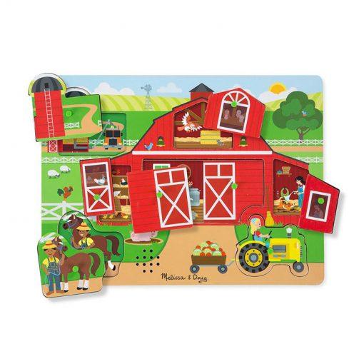Zvukové puzzle - Okolo farmy 2