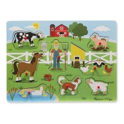 Zvukové puzzle - Old MacDonald's Farm 1