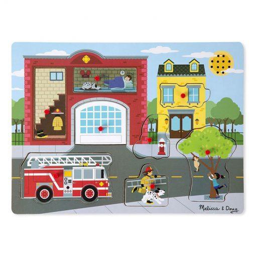 Zvukové puzzle - Požiarna stanica 1