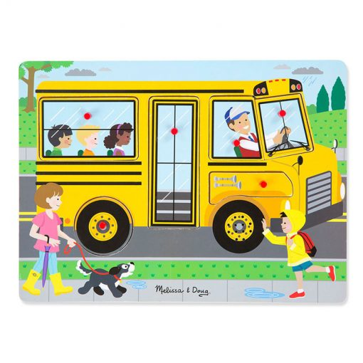 Zvukové puzzle - The Wheels on the Bus 1