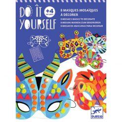 DIY Masky - Zvieratá z džungle 1
