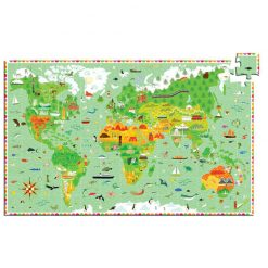 Náučné puzzle Monumenty sveta 1