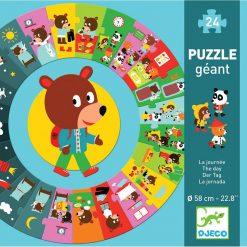 Obrovské puzzle - Deň 1