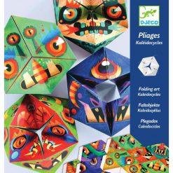 Papierové skladačky - Flexagóny Príšery 1