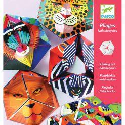 Papierové skladačky - Flexagóny Zvieratá 1