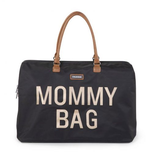 Prebalovacia taška Mommy bag Black Gold 1