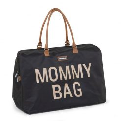 Prebalovacia taška Mommy bag Black Gold 3