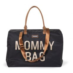 Prebalovacia taška Mommy bag Black Gold 5