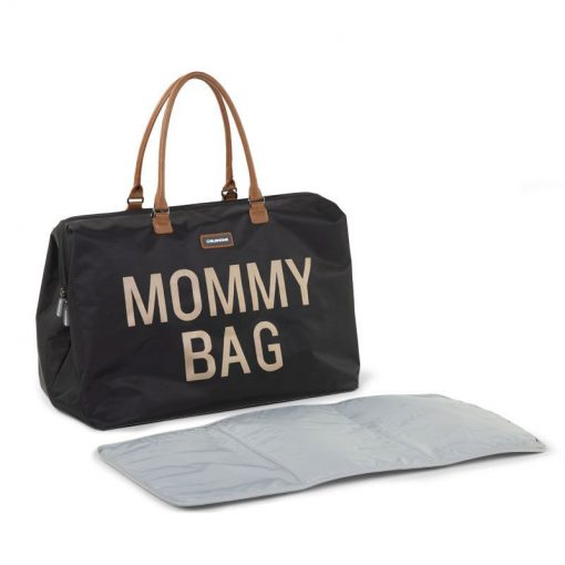 Prebalovacia taška Mommy bag Black Gold 7