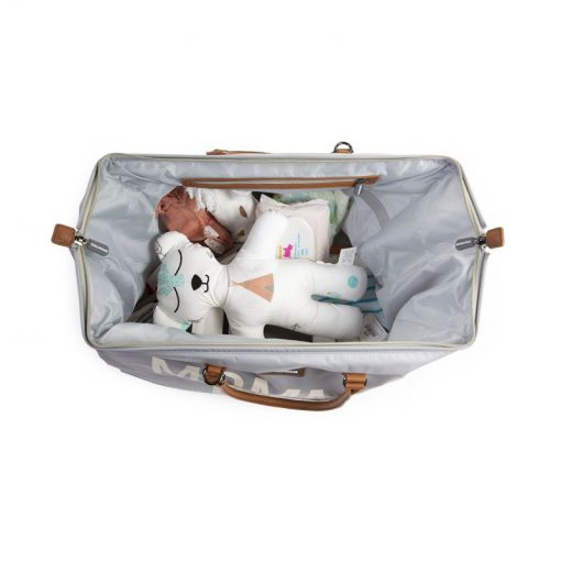 Prebalovacia taška Mommy bag Grey off White 6